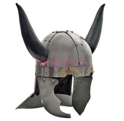 Horned Viking Helmet