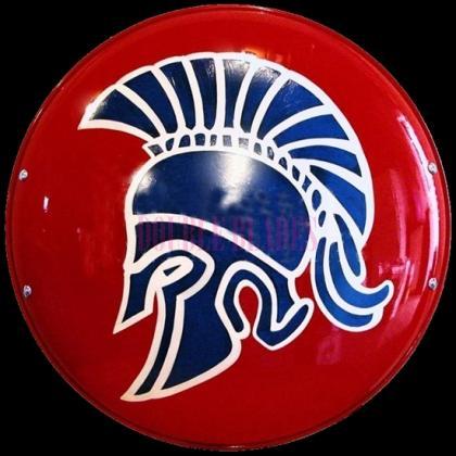 The Steel Greek Spartan Shield