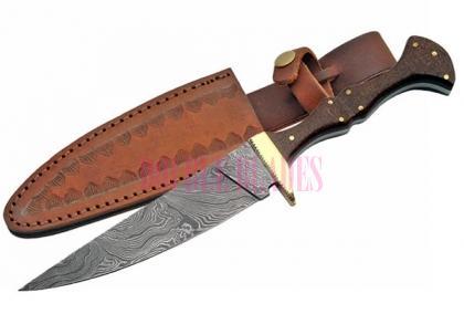 Damascus Hunting Wizard Dagger