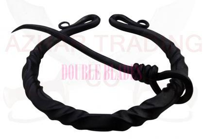 Hand Forged Twisted Ring Clasp