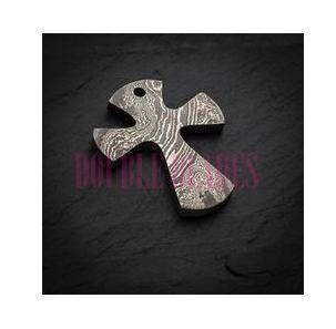 Handmade Damascus Steel Necklace
