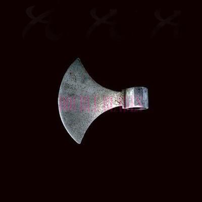 Damascus Steel Axe Blade