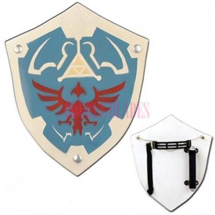 Link Hylian Wooden Shield Legend of Zelda