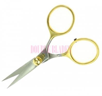 4-inches Gold Loop Razor Scissors