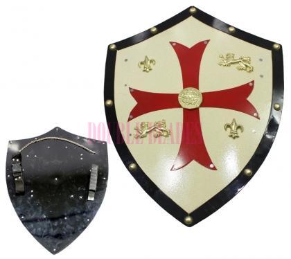 Medieval Royal Knight Crusader Shield