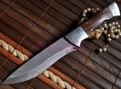 Custom Made Handcrafted Hunting Knife -Bowie knife