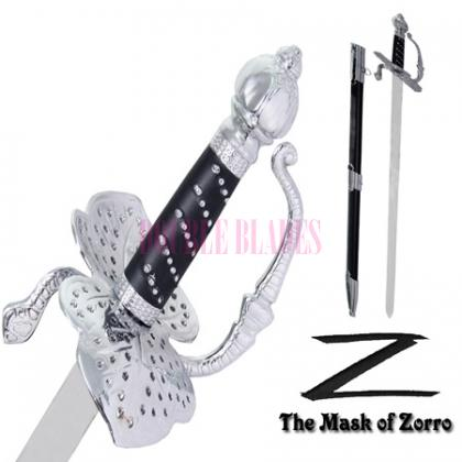 Legend Mask Of Zorro Rapier Sword