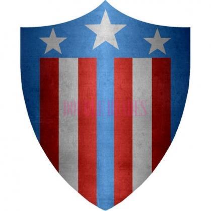 Classic Captain America shield