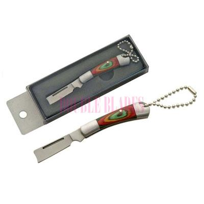 RAZOR KEYCHAIN KNIFE