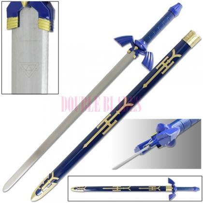 Legend Of Zelda-Twilight Princess-Link Master Sword
