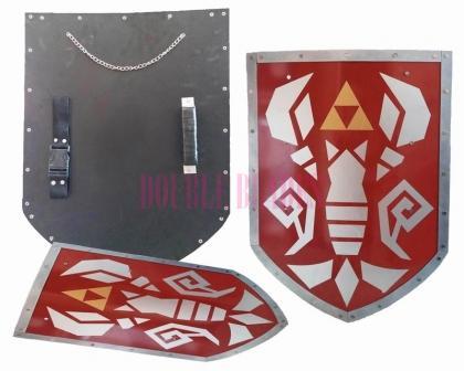 Link Phantom Hourglass Steel Shield of Antiquity Triforce