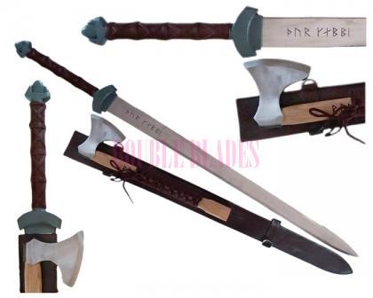 Viking Knights  Sword  Axe Set Thor Champion Winter Bite