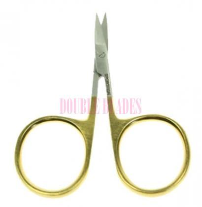 3.5-inches GOLD LOOP Iris Scissors